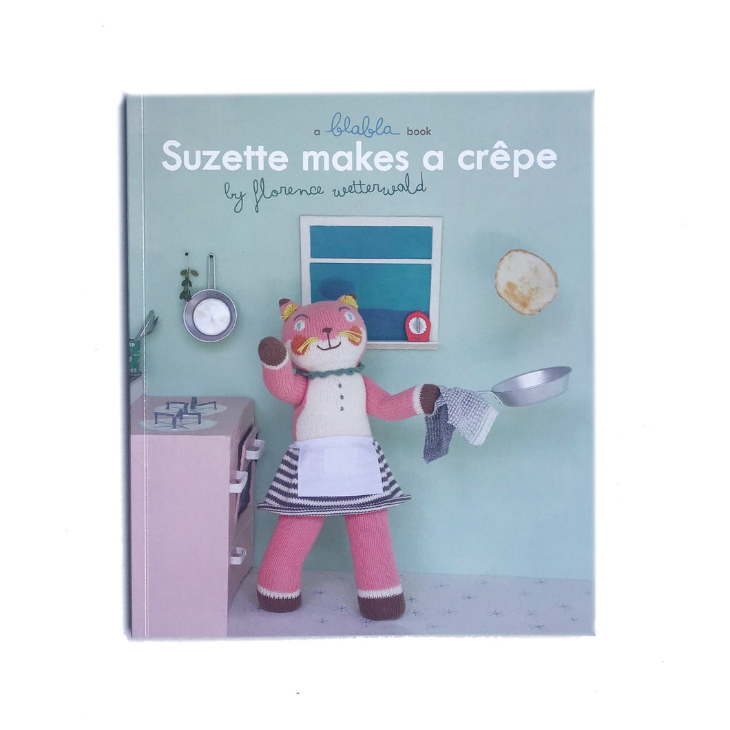 Suzette Makes a Crêpe Book