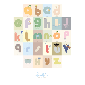 ABC Buddies Print Color