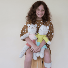 bear tweedy yellow - blabla kids doll