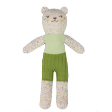bear tweedy green - blabla kids doll