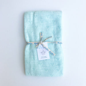 Little Triangle Blanket Mint