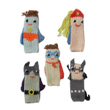 Finger Puppets Super Hero (set 5)