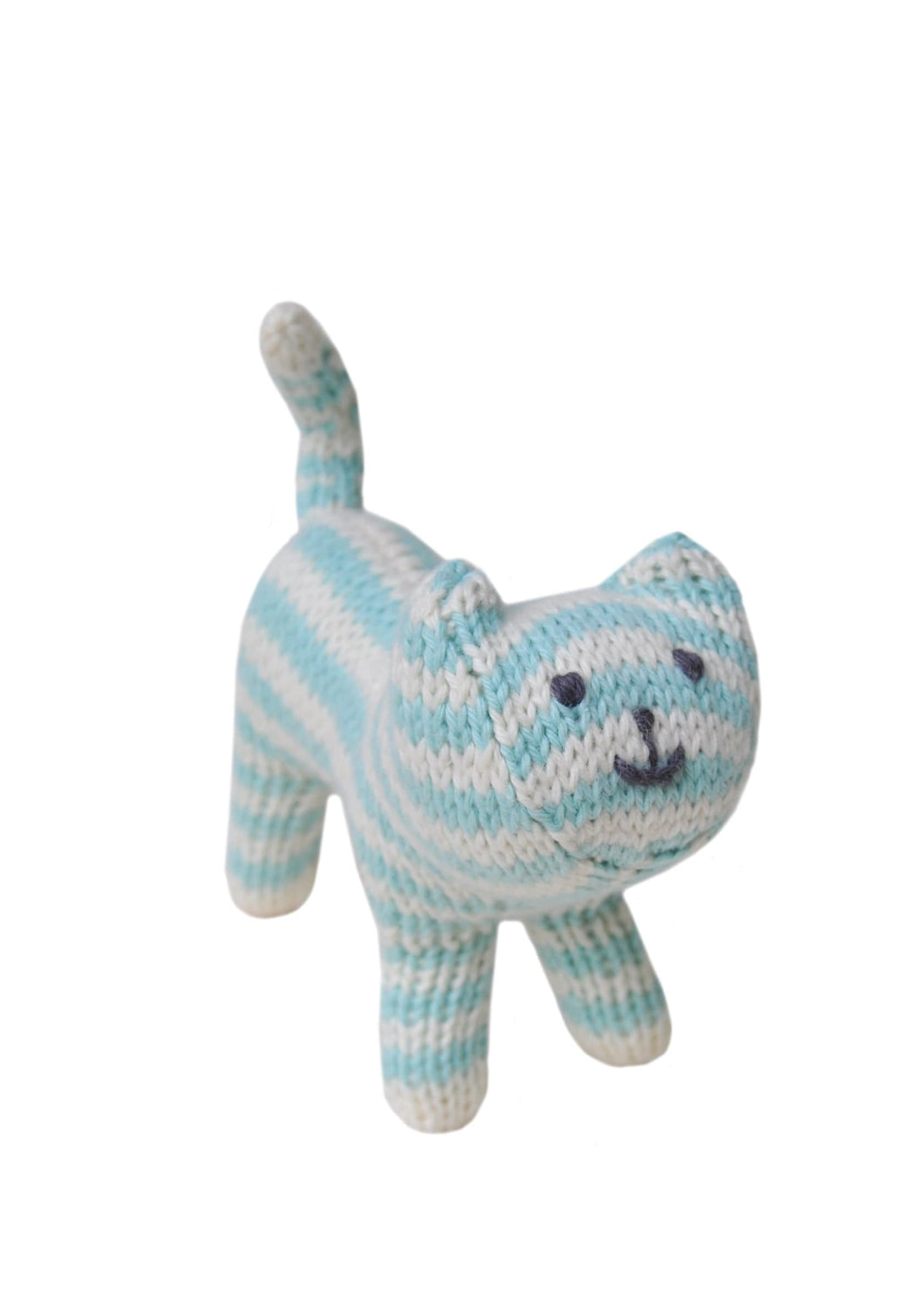 Cat Rattle Blue