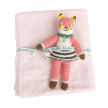 Suzette Rattle & Petal Blanket Bundle