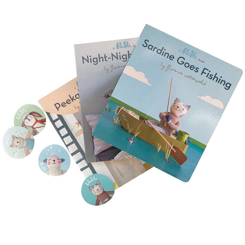 Book & Sticker Bundle