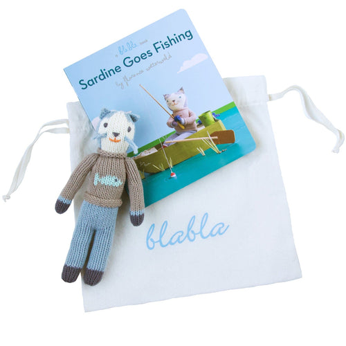 Book & Sardine Rattle Gift Set