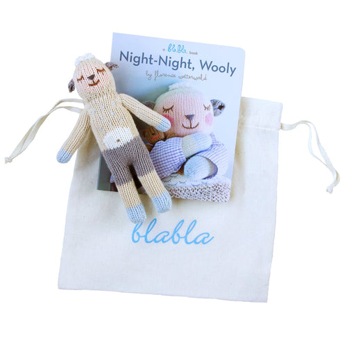 Book & Wooly Rattle Gift Set