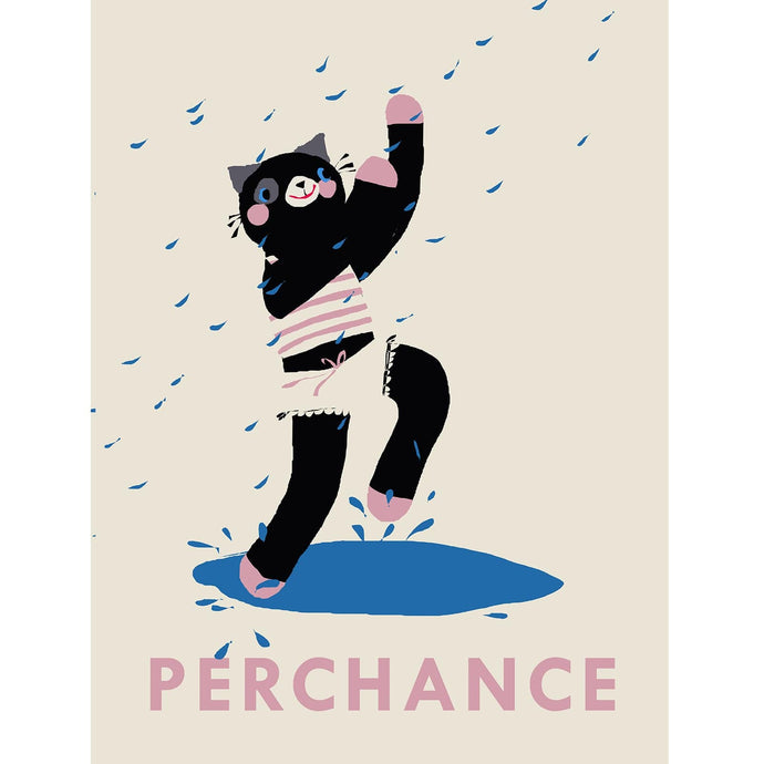 Perchance the Cat Art Print