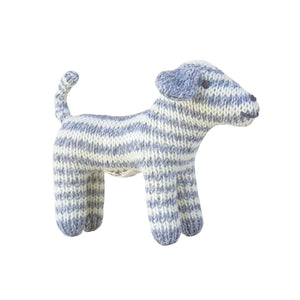 Dog Rattle Grey