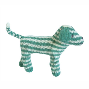 Dog Rattle Teal