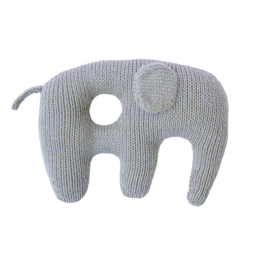 Jumbo Elephant Rattle Grey