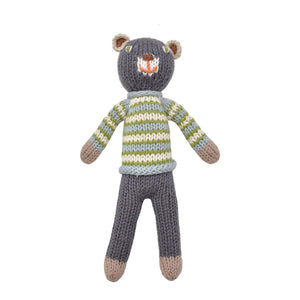School Book Boy Bear Rattle