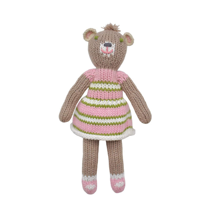 School Book Girl Bear Rattle