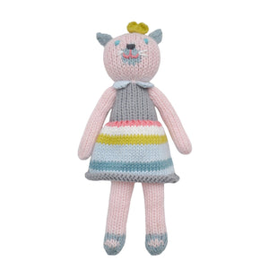 School Book Girl Cat Rattle