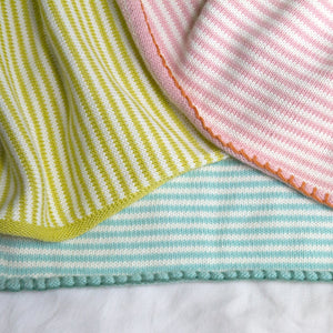 Little Boat Blanket Rose