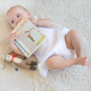 Book & Pierre Rattle Gift Set