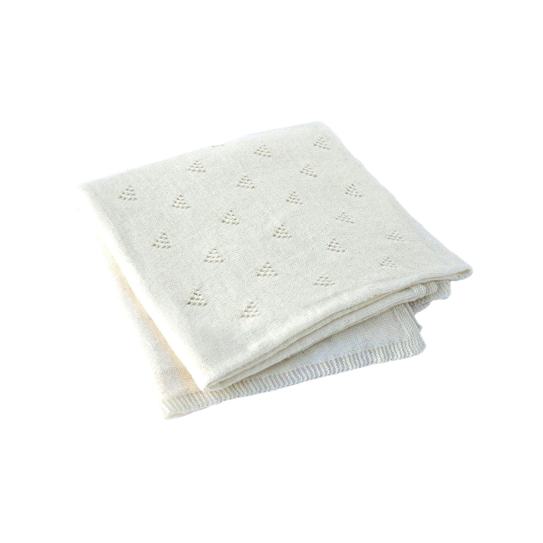 Little Triangle Blanket Vanilla
