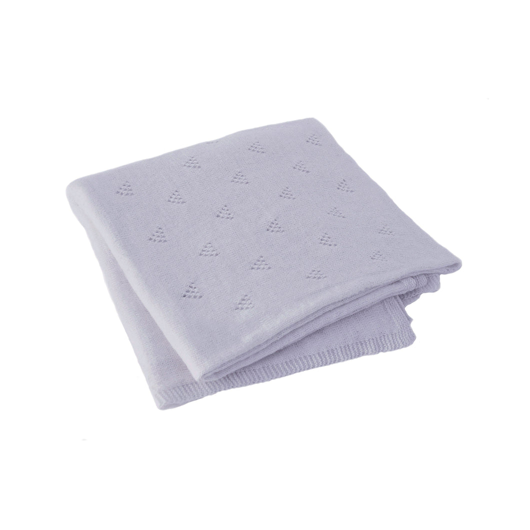 Little Triangle Blanket Periwinkle