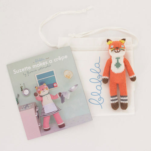 Book & Socks Rattle Gift Set