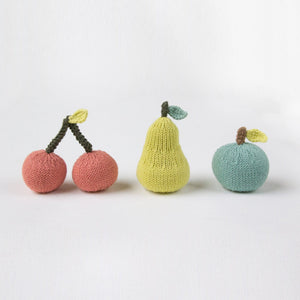 Pear Fruit Rattle