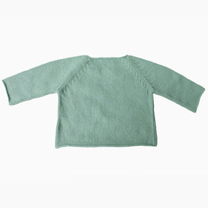 Oragami Sage Sweater