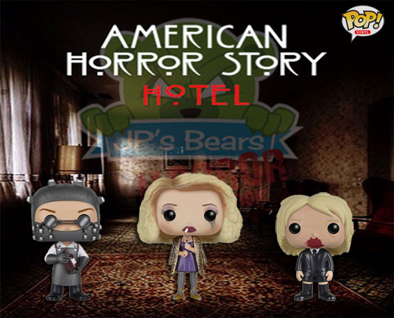 New American Horror Story: Hotel POP! Vinyls