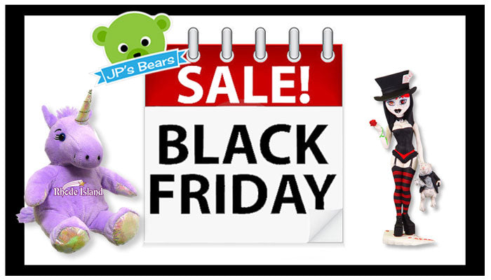 Black Friday Weekend Sale at JPsBears
