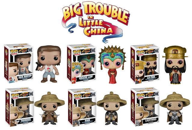 Big Trouble In Little China POP! Figures