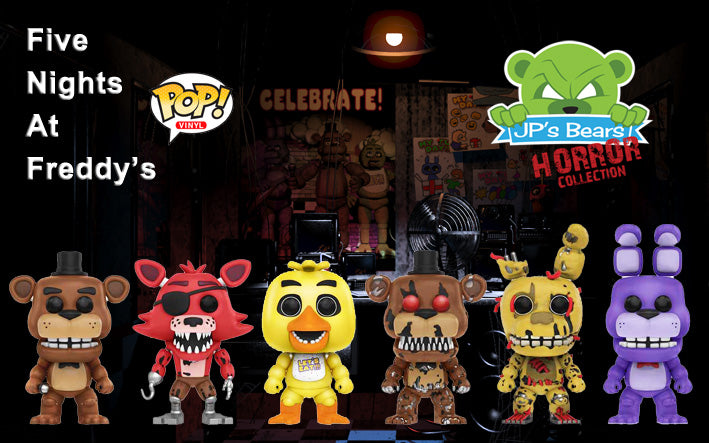 Five Nights at Freddy's POP! Vinyl on SALE NOW!