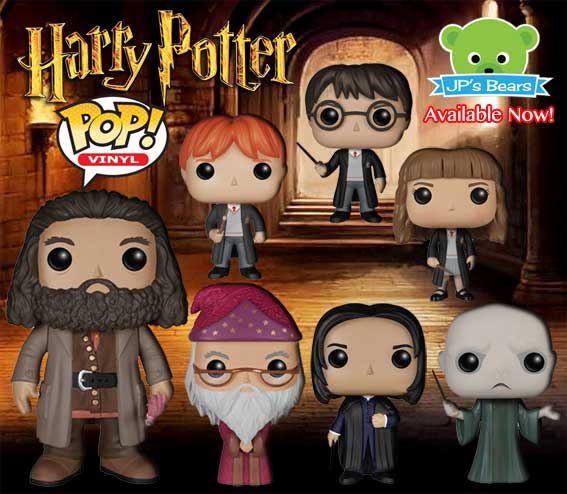 Harry Potter POP! Vinyl are now available!