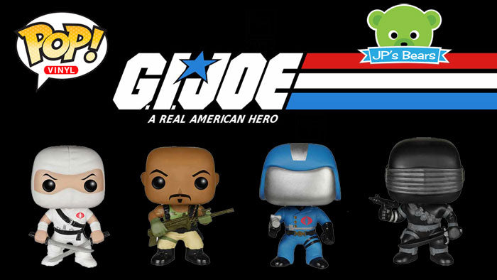 G.I. Joe Pop! Vinyls Now At JP's Bears!