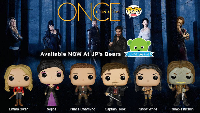 Once Upon A Time POP! Vinyl are now available!