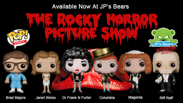 Rocky Horror Picture Show POP! Vinyl are now available!