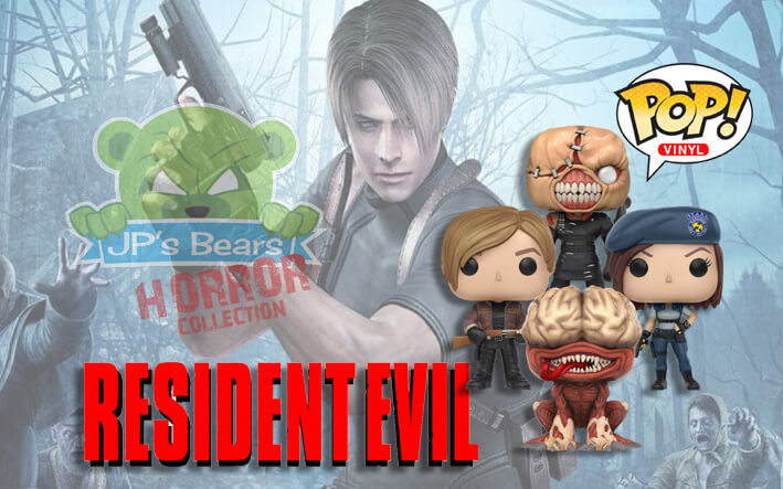Resident Evil POP! Vinyl on SALE NOW!