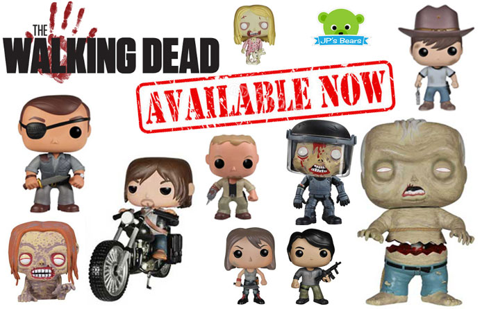 Now In.... The Walking Dead POP! Figures