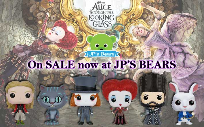 Get Your Through The Looking Glass POPS NOW!