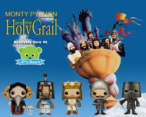 Monty Python And The Holy Grail POP! Vinyls