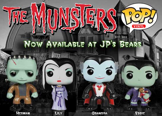 The Munsters POP! Vinyls Now Available!