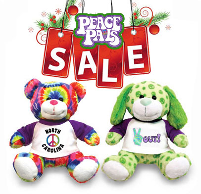 Peace Pals Holiday Sale at JP's Bears