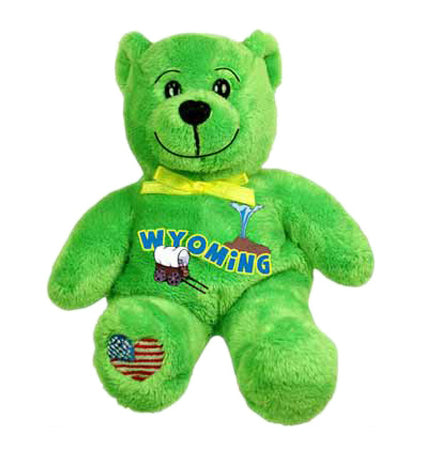 Wyoming-State-Bear-Green