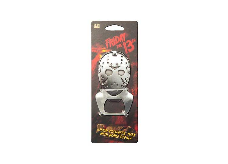 Friday The 13th Metal Bottle Opener – Jason Voorhees - Jps Bears