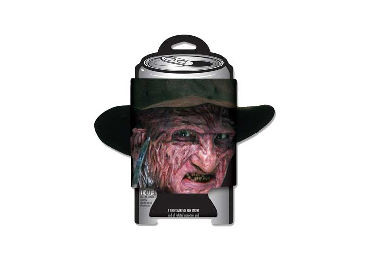 A Nightmare on Elm Street Diecut Can Cooler – Freddy Krueger - Jps Bears