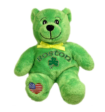 Boston City Bear Green - Jps Bears