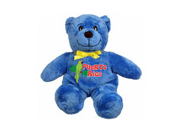 Puerto Rico Bear Blue - Jps Bears