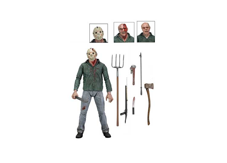 "Jason Voorhees 7"" Ultimate – Friday The 13th Part III - Jps Bears"