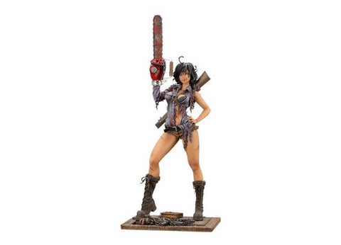 Ash Williams Bishoujo Statue - Evil Dead 2: Dead By Dawn - Jps Bears