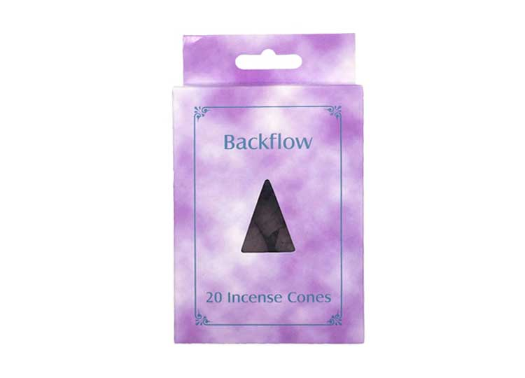Backflow Incense Cones - Lavender
