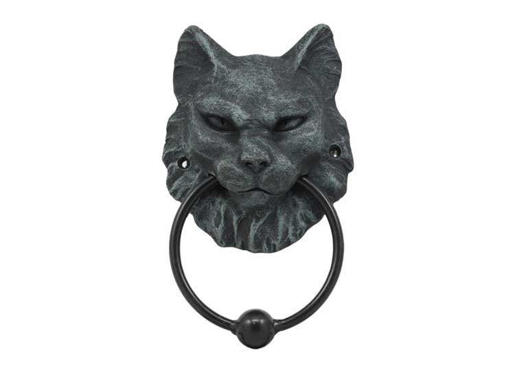 Cat Gargoyle Door Knocker - Jps Bears