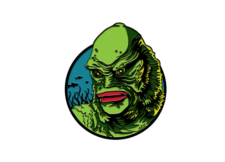 Creature From The Black Lagoon – Universal Classic Monster Enamel Pin