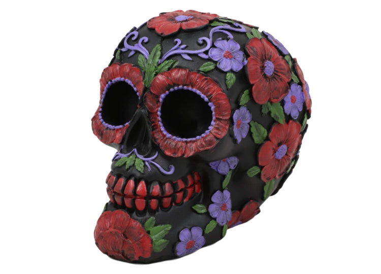 Day of the Dead Skull - Small Colored